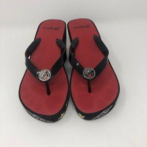 Brighton Platform Wedge Sandals Size 9